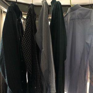 Men's Button-Down Shirts Chaps & Banana Republic